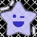 Falling Star Xmas Icon