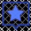 Star Favorite Speech Icon
