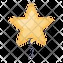Star Star Ornament Christmas Decoration Icon