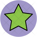 Star Shape Five Icon