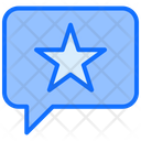 Star Comment Feedback Icon