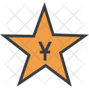 Star Chinese Yuan Icon