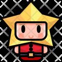 Star Boy Man Icon