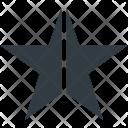 Star Shape Five Icon