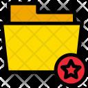 Star Favourite Folder Icon