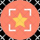 Star Bookmark Focus Icon