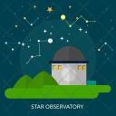 Star Observatory Galaxy Icon