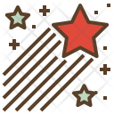 Raising Star Decoration Icon