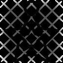 Star Decoration Ornament Icon