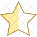 Star Half Rating Icon