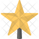 Christmas Star Gold Icon