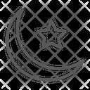 Islamic Crescent Ramadan Icon