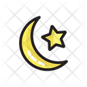 Star And Moon Icon
