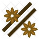 Star Anise Cinnamon Icon