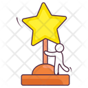 Star Trophy Winner Award Winner Trophy Icon