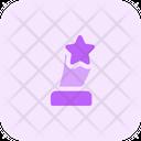 Star Award Trophy Trophy Award Icon