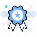 Award Star Badge Ribbon Badge Icon