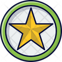 Star Badge Badge Medal Of Honour Icon