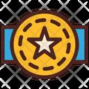 Award Badge Star Icon
