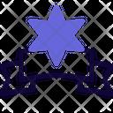 David Star Label Icon