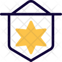 David Star Medal Of Honor Flag Icon