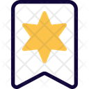 Star Of David Badge Icon
