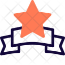 Star Prize Label Icon