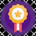 Emblem Star Badge Honor Icon