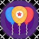 Star Balloons Icon