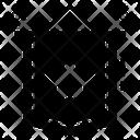 Star Banner Ribbon Mark Icon