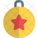 Star Bauble Ball Icon