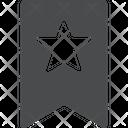 Star Bookmark Icon