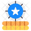Star Coin Game Coin Gold Coin Icon