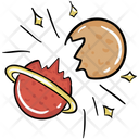 Star Collision Icon