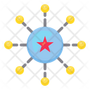 Star Connection Icon