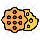 Star Cookies Crackers Biscuits Icon