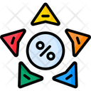 Star Diagram Icon