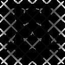 Armed Badge Star Badge Star Emblem Icon