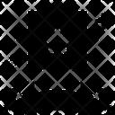 Star Emblem Star Badge Star Banner Icon