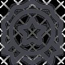 Star Emblem Icon