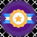 Honor Star Emblem Military Badge Icon