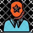 Star Employer Plan Presentation Icon
