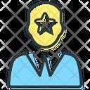 Star Employer Business Plan Businessman Icon