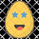 Star Eye Egg Icon