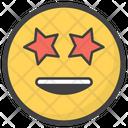 Star Eyes Emoji Icon