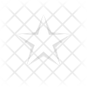 Star Favorite Sign Favorite Star Icon