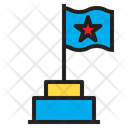 Star Flag Business Icon