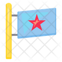 Star Flag Business Management Icon