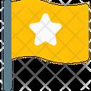 Star Flag Flag Flag Sign Icon