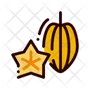Fruit Food Star Icon
